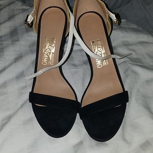 Ferragamo heeled sandal